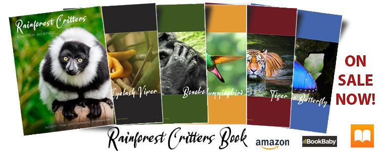 Rainforest Critters Book